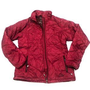 ⛄️ LL Bean Burgundy puffer jacket new S